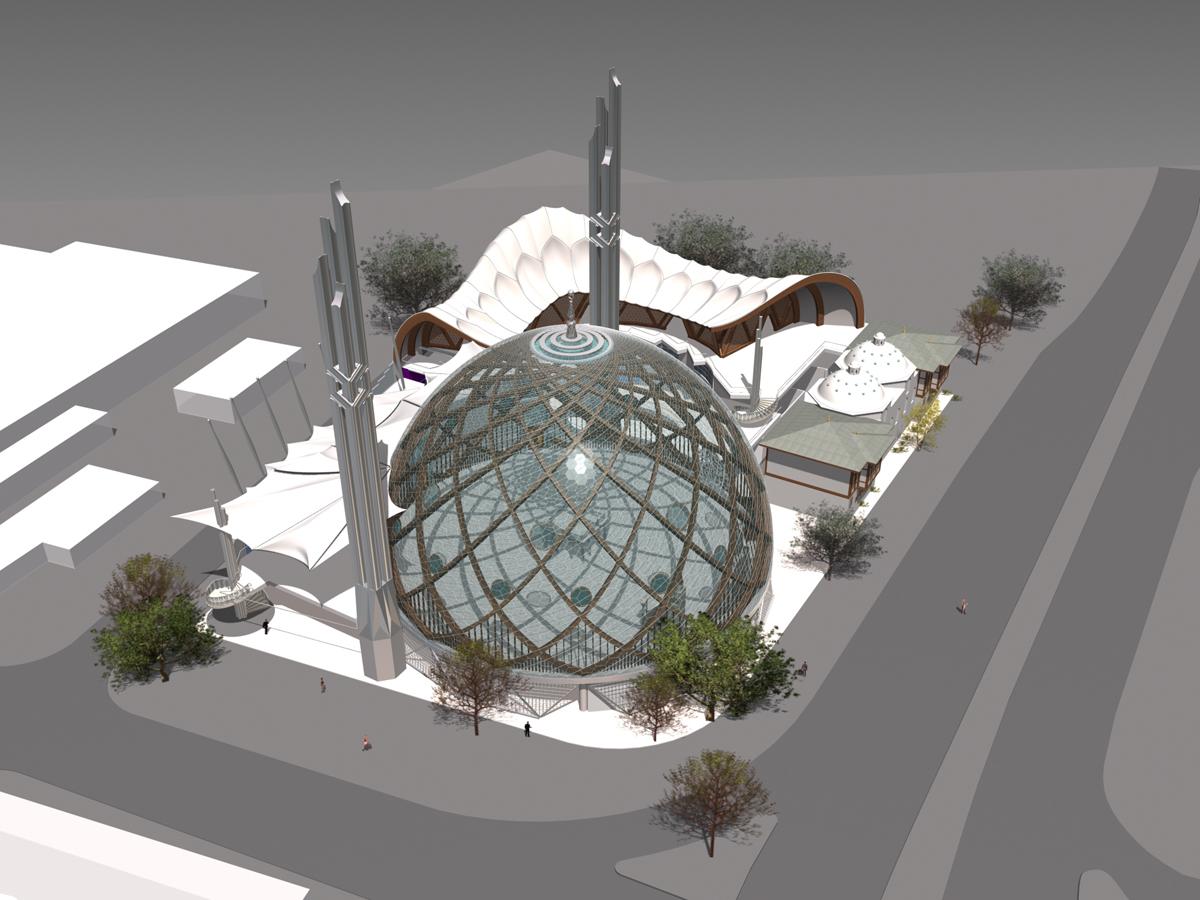 Köln Camii Yarışma Projesi