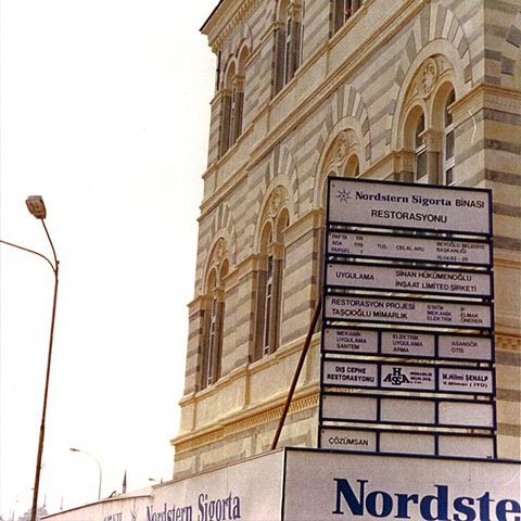 Nordsten Insurance Building Restoration