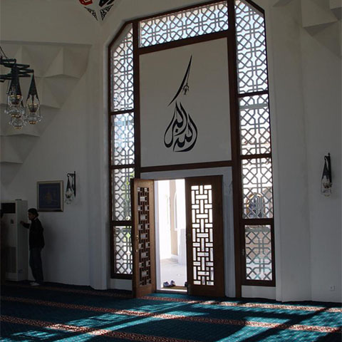 Betüyab Garden of Religions Mosque in Belek