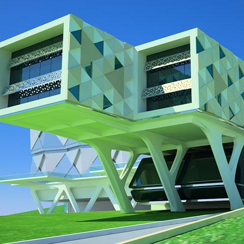 イスタンブル/メトロポリタン市公文書館ビル