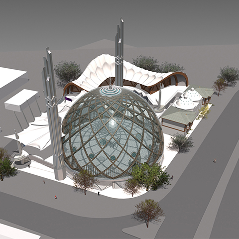 Köln Mosque Architectural Design Competition Project
