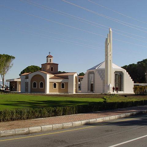 """جامع حديقة الأديان في """"باتوياب"""" بأنطاليا"""