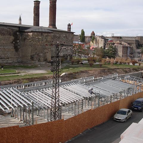Erzurum Tarihi Tebrizkapı Çarşısı