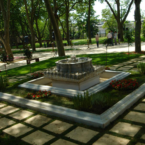 The Topkapi Palace 1. Courtyard Landscaping Project