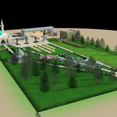 マスラックの森林管理局モスク