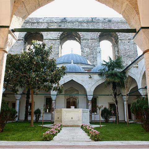 The Madrasa, Tomb and ve Public Fountain of Gazanferağa Restoration